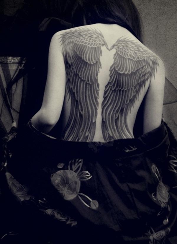 Angel Tattoo Design (1)