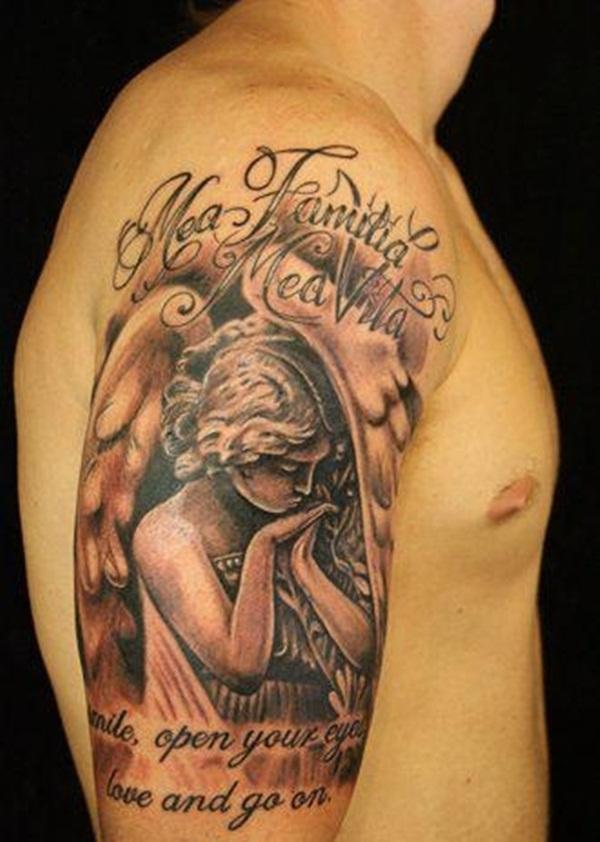 Angel Tattoo Design (3)