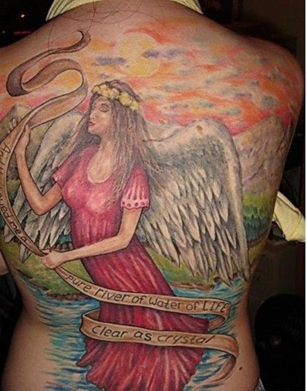 Angel Tattoo Design (8)