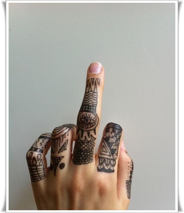 Finger Tattoos Designs (8)