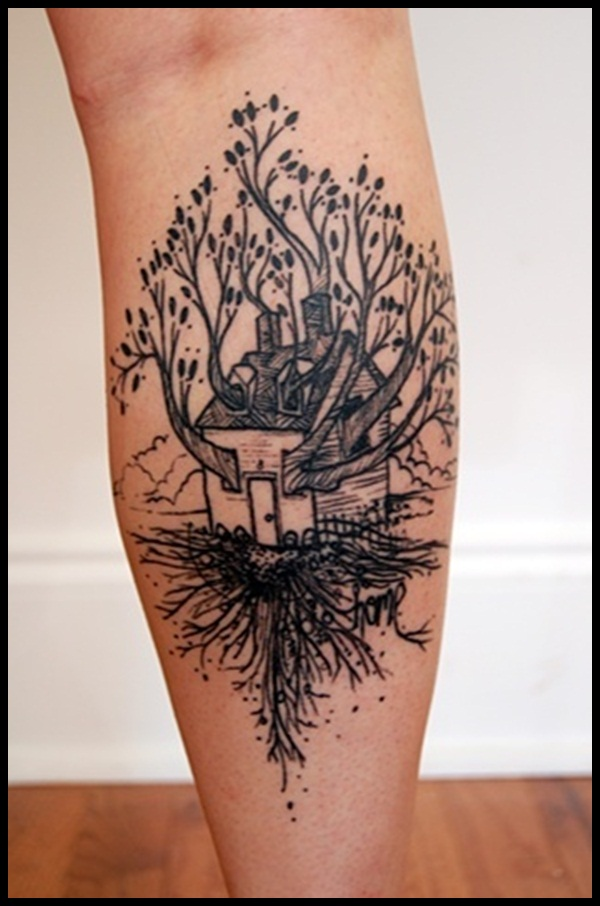 Tree Tattoo designs for Men and Women (4)