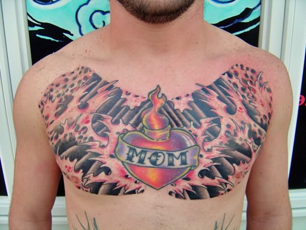 Chest Tattoos (12)