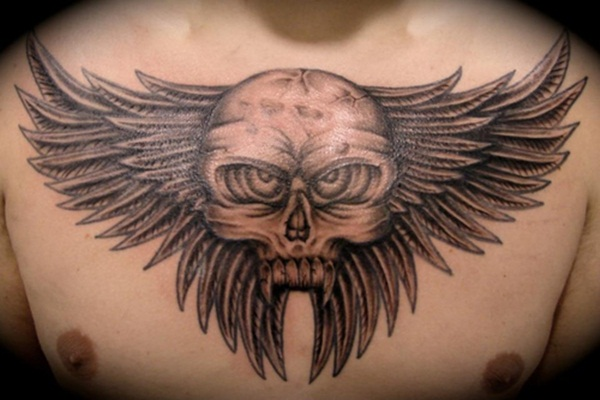 Chest Tattoos (20)