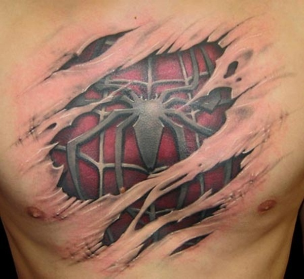 Chest Tattoos (28)