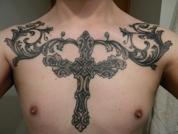 Chest Tattoos (39)