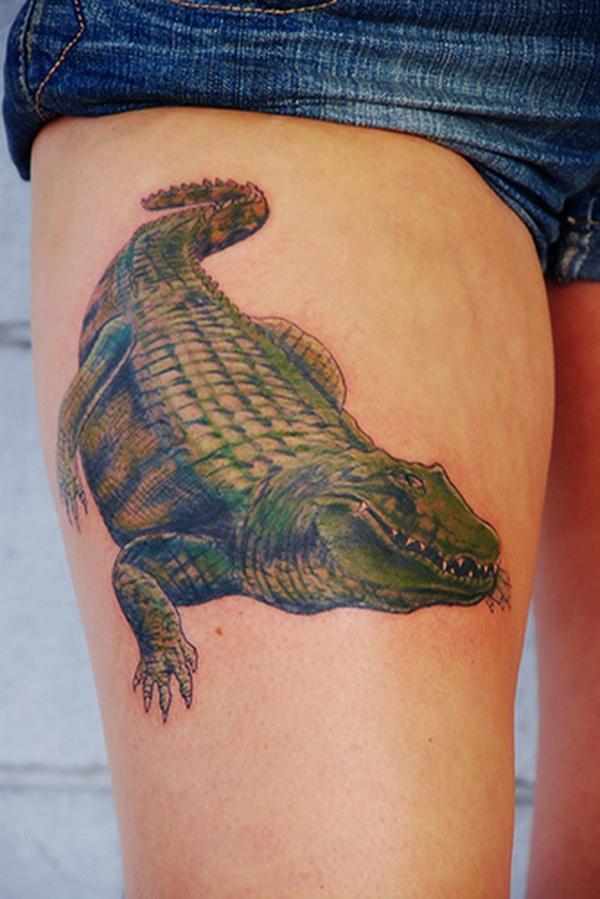 Upper Thigh Tattoos For Girls (14)