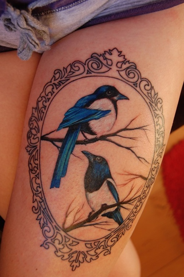 Upper Thigh Tattoos For Girls (16)