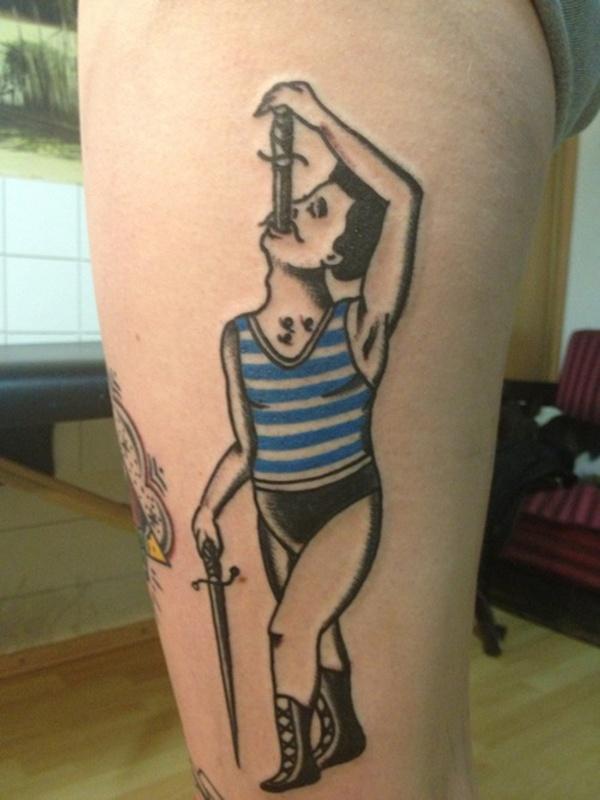 Upper Thigh Tattoos For Girls (18)