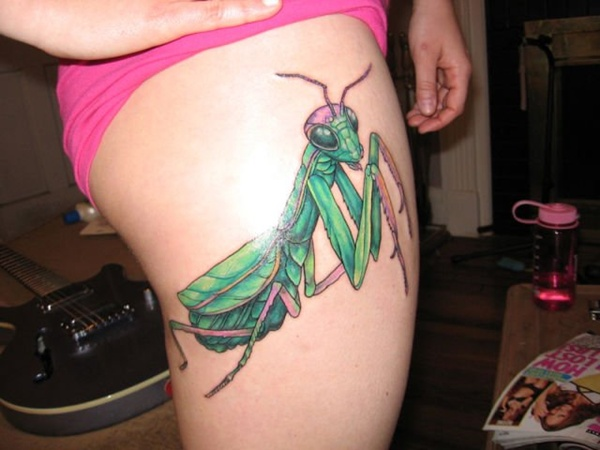 Upper Thigh Tattoos For Girls (24)