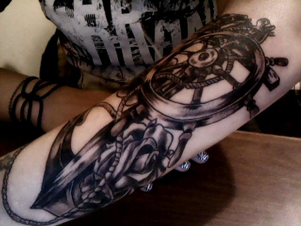 anchor tattoo meaning and designs (1)