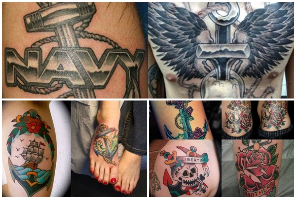 anchor tattoo meaning and designs