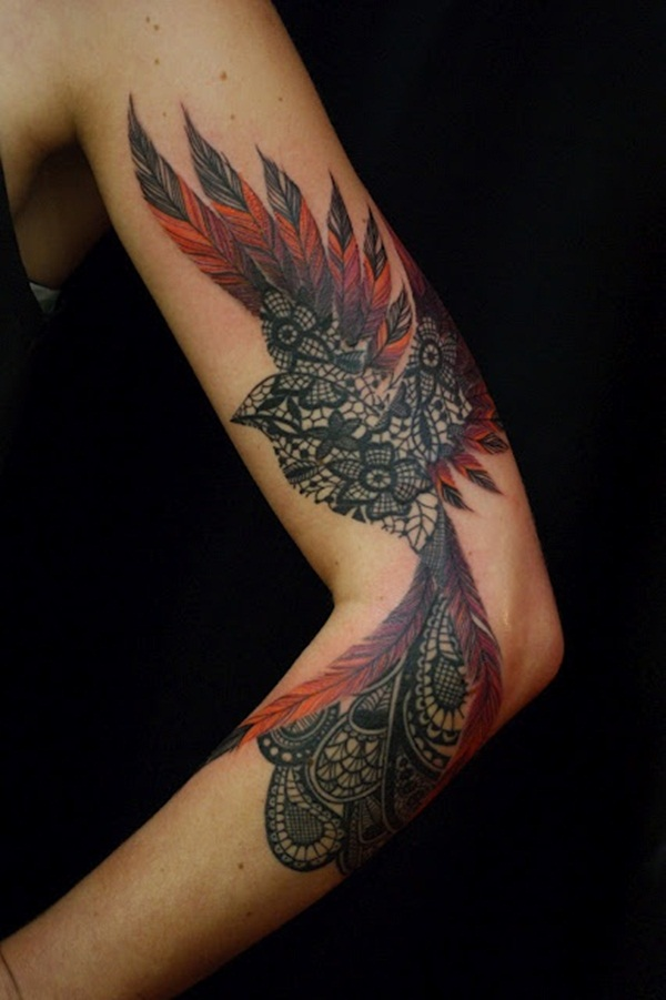 phoenix tattoo meaning and Designs For Men and Women (12)