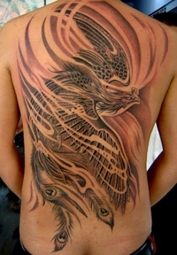 phoenix tattoo meaning and Designs For Men and Women (16)