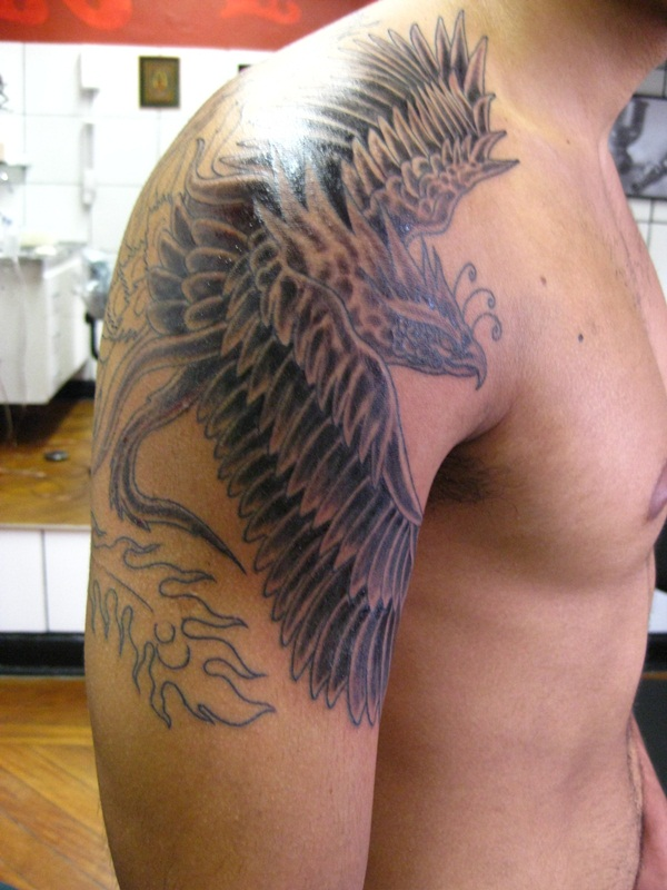 phoenix tattoo meaning and Designs For Men and Women (20)