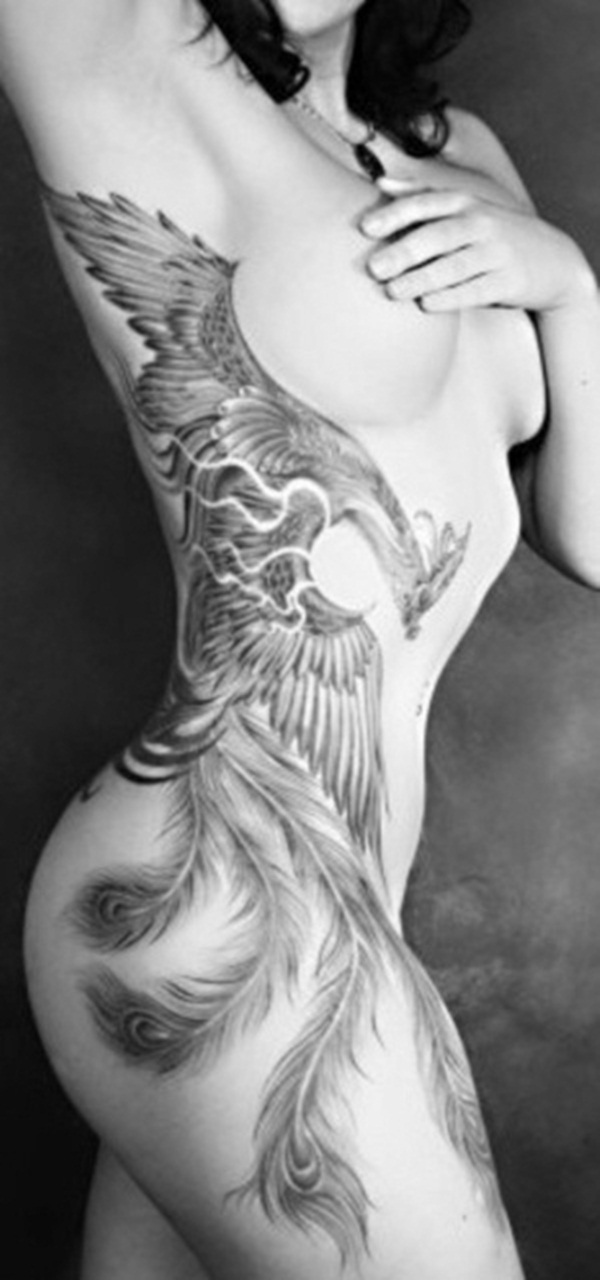 phoenix tattoo meaning and Designs For Men and Women (26)