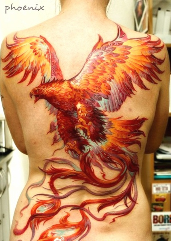 phoenix tattoo meaning and Designs For Men and Women (34)