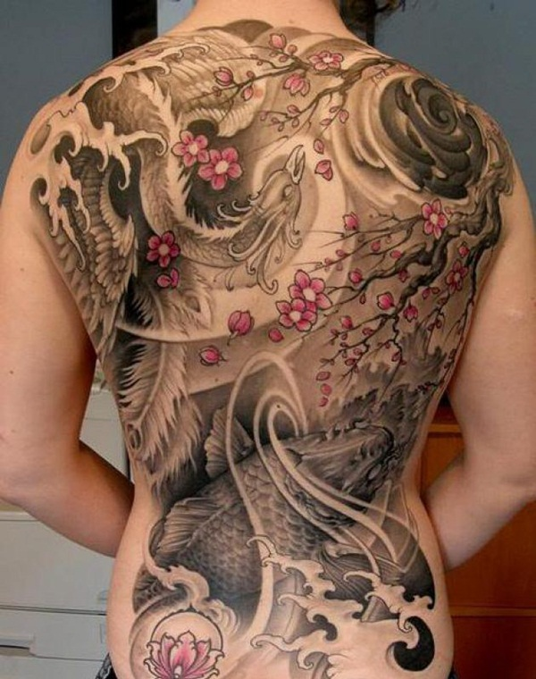 phoenix tattoo meaning and Designs For Men and Women (49)