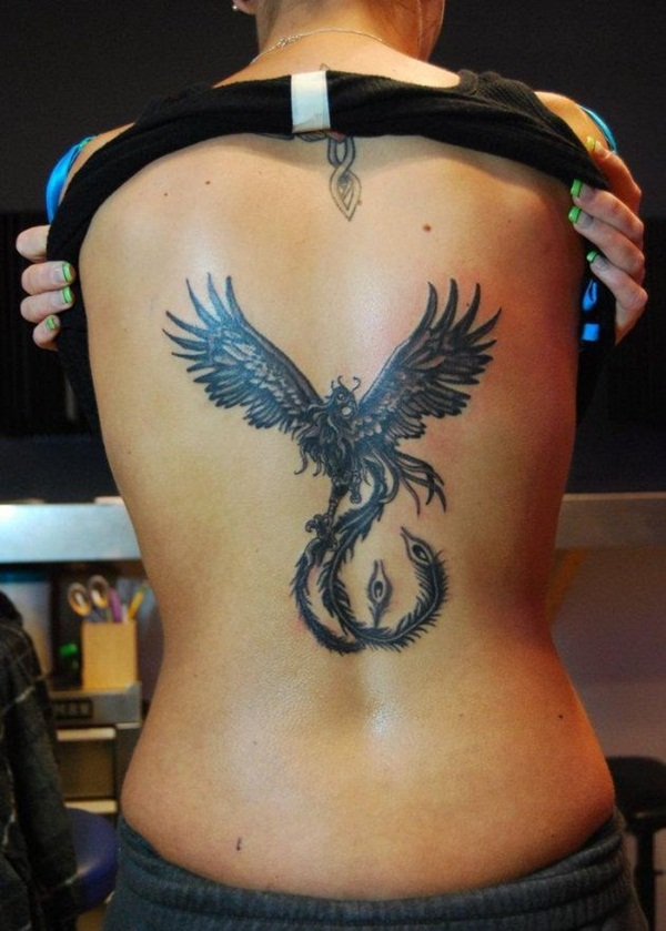 phoenix tattoo meaning and Designs For Men and Women (51)
