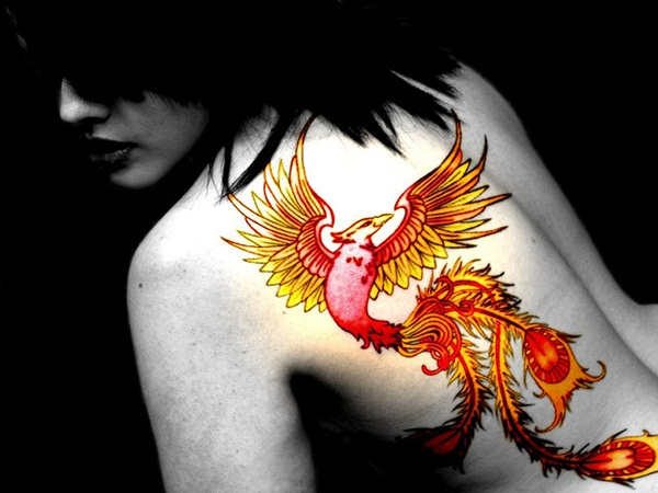 phoenix tattoo meaning and Designs For Men and Women (53)