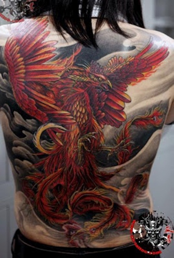 phoenix tattoo meaning and Designs For Men and Women (8)