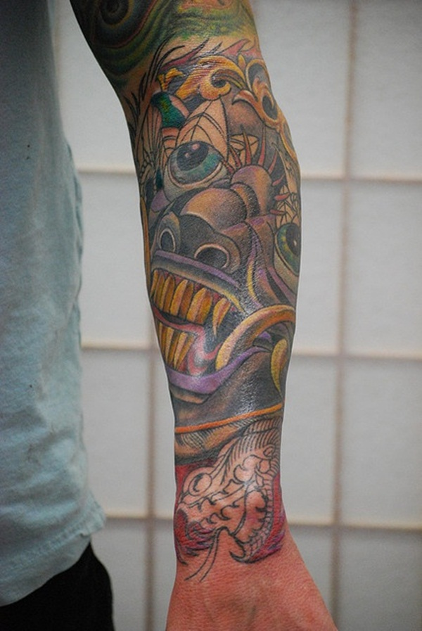 Half Sleeve tattoo Designs (36)