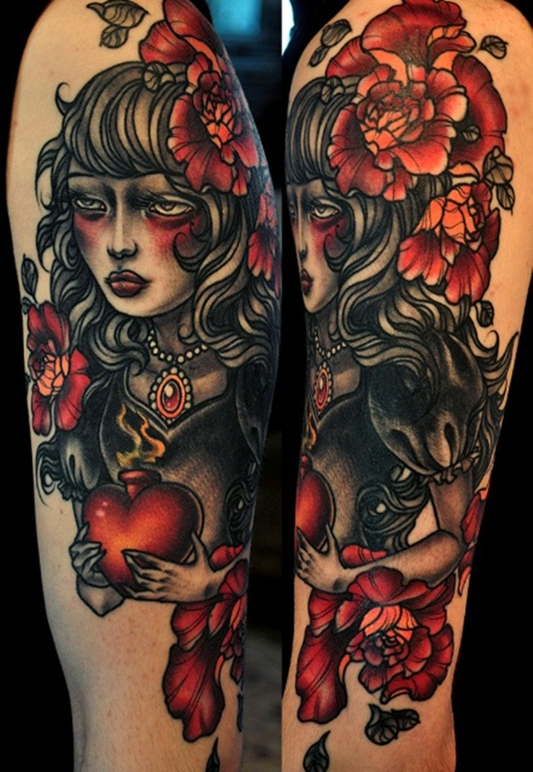Half Sleeve tattoo Designs (5)