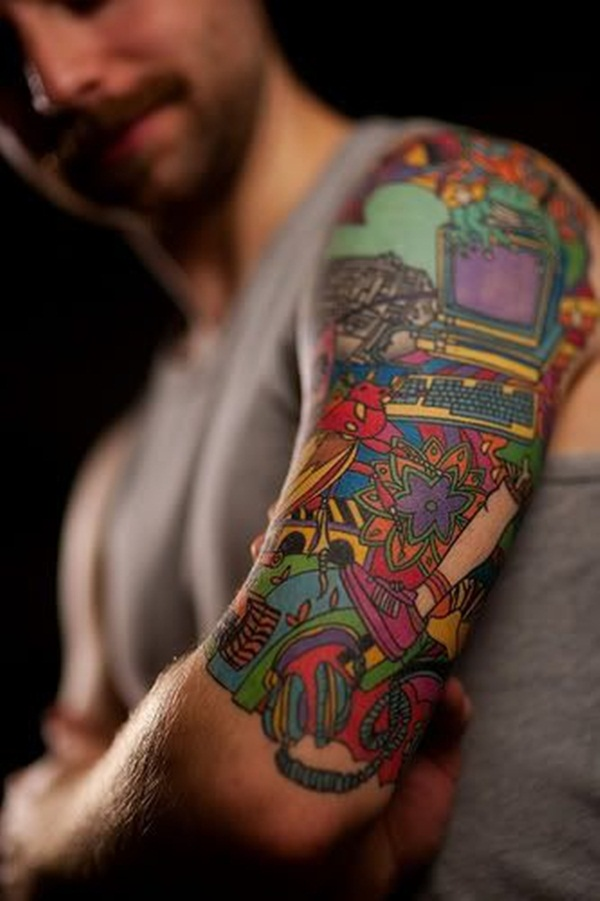 Half Sleeve tattoo Designs (8)