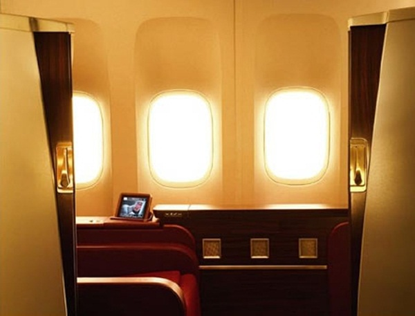 Jet Airways Private Cabins on London Mumbai Flights