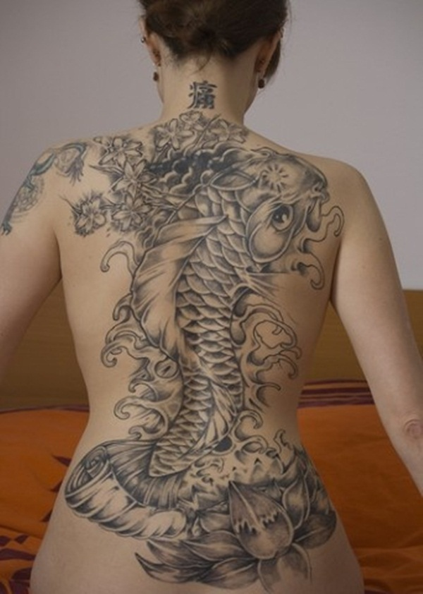 Koi tattoo meaning and Designs For Men and Women (13)