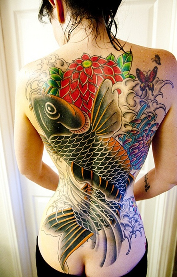 Koi tattoo meaning and Designs For Men and Women (29)
