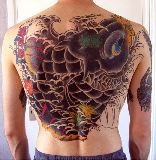 Koi tattoo meaning and Designs For Men and Women (36)
