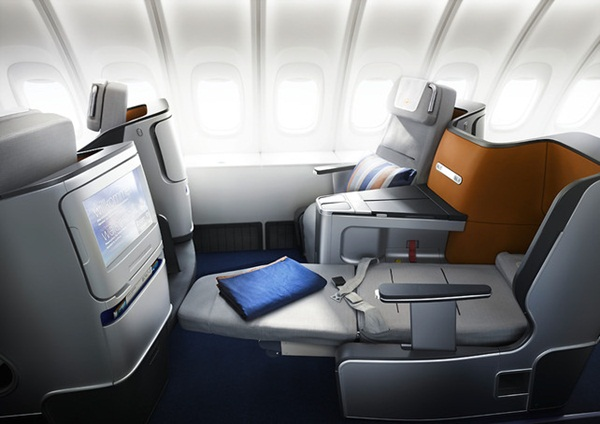 Lufthansa Offers a Bed with Their First Class Seat