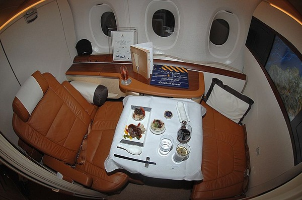 Singapore Airlines Airbus A380 First Class Suite