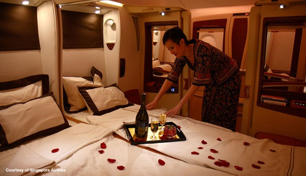 Singapore Airlines Airbus A380 VIP Cabins
