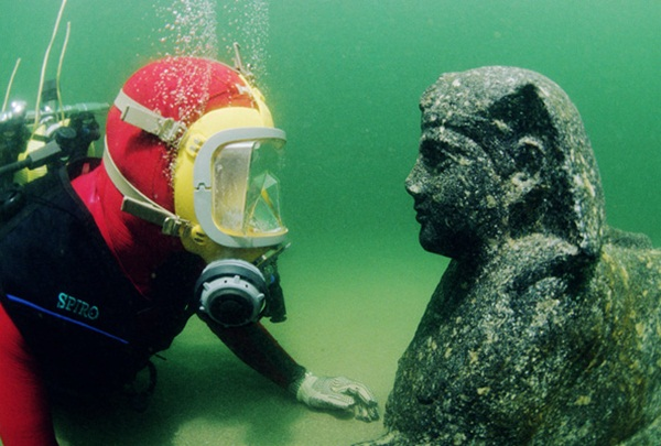 Submerged Wonders of Alexandria, Egypt