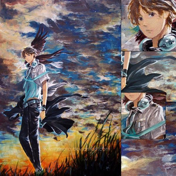 Through the Eyes of Eagle -Canvas-
