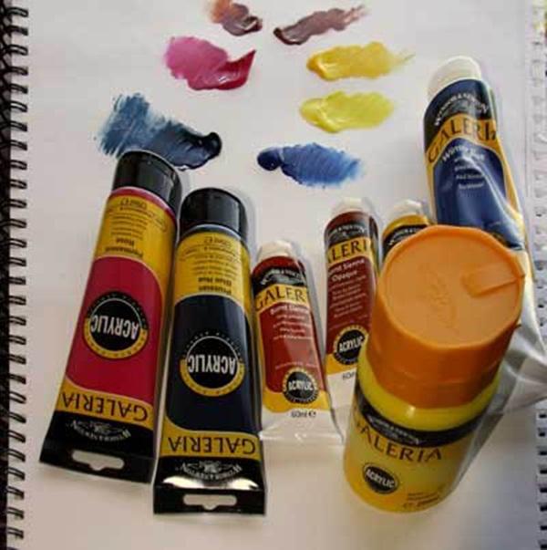 acrylic paints (30)