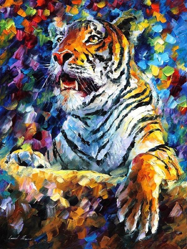 original oil on canvas painting 3