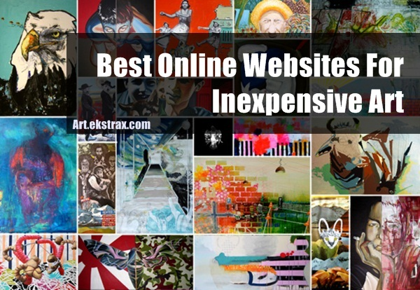 Best Online Websites For Inexpensive Art