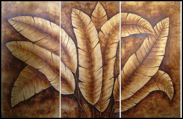 Examples Of Leaf Painting (18)
