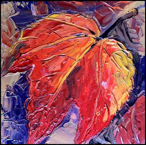 Examples Of Leaf Painting (2)