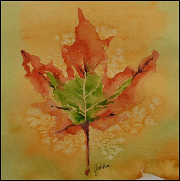 Examples Of Leaf Painting (7)
