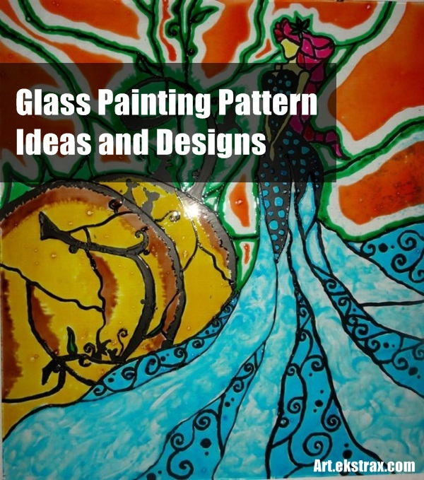 Glass Painting Pattern Ideas and Design