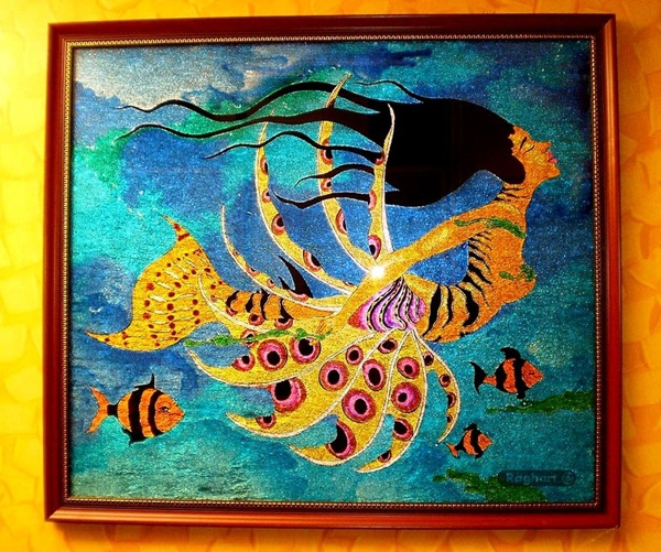 Glass Painting Pattern Ideas and Designs (15)
