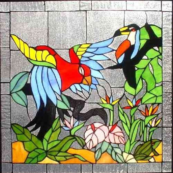 Glass Painting Pattern Ideas And Designs (16)