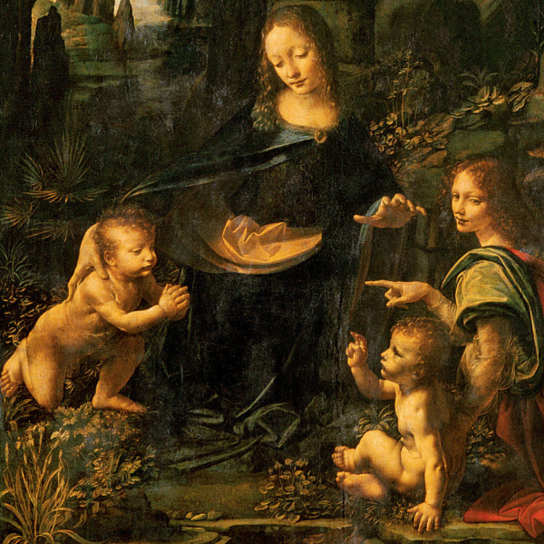 Leonardo Virgin of the rocks