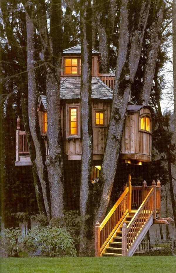 Beautiful Tree House Ideas (14)