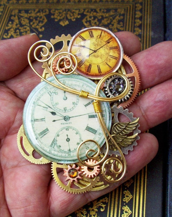 Cool Steampunk Art Ideas which will blow your mind (35)