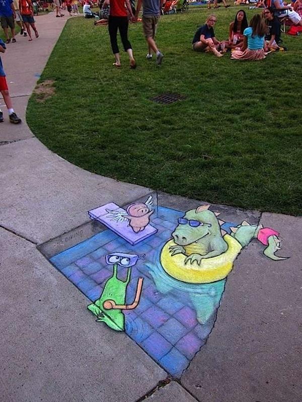 Creative Chalk Art Examples (10)