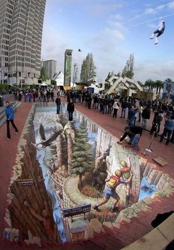 Creative Chalk Art Examples (11)